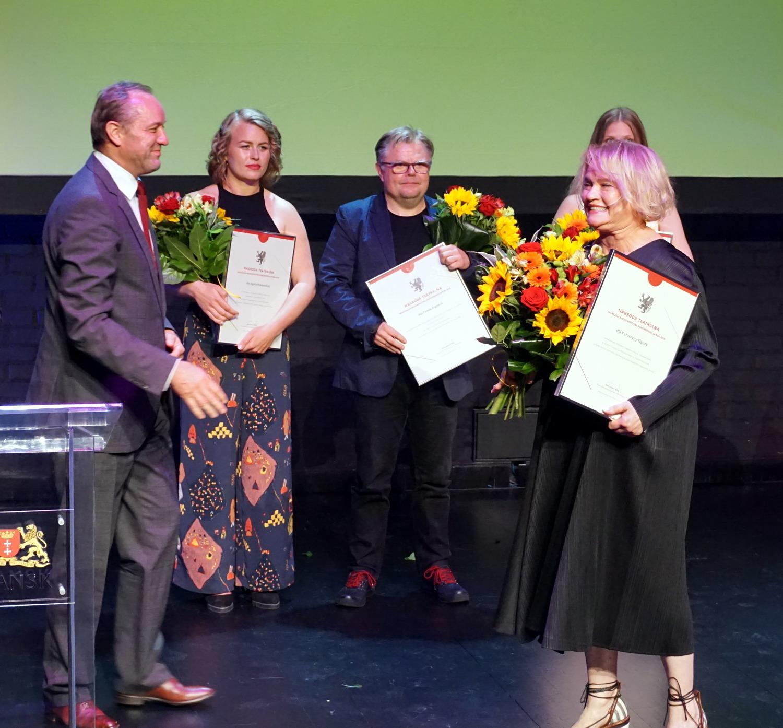 Wyróżnienia dla ludzi teatru. Wręczono nagrody specjalne marszałka województwa pomorskiego