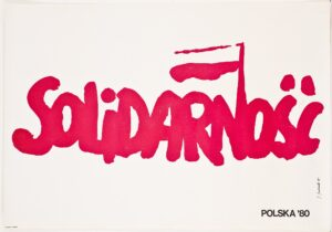 Jerzy Janiszewski, plakat Solidarność z 1980 r.