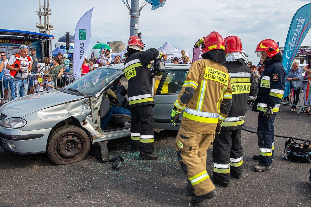 Symulacja wypadku drogowego