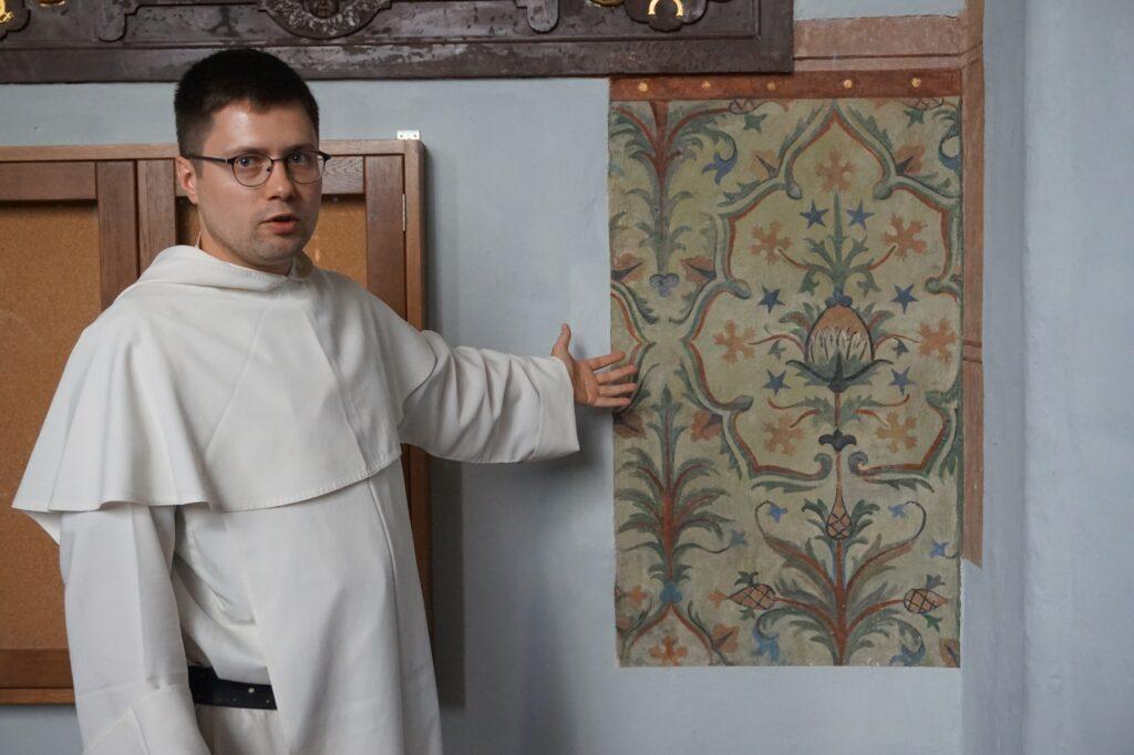 Ojciec Michał Osek, przeor klasztoru dominikanów w Gdańsku