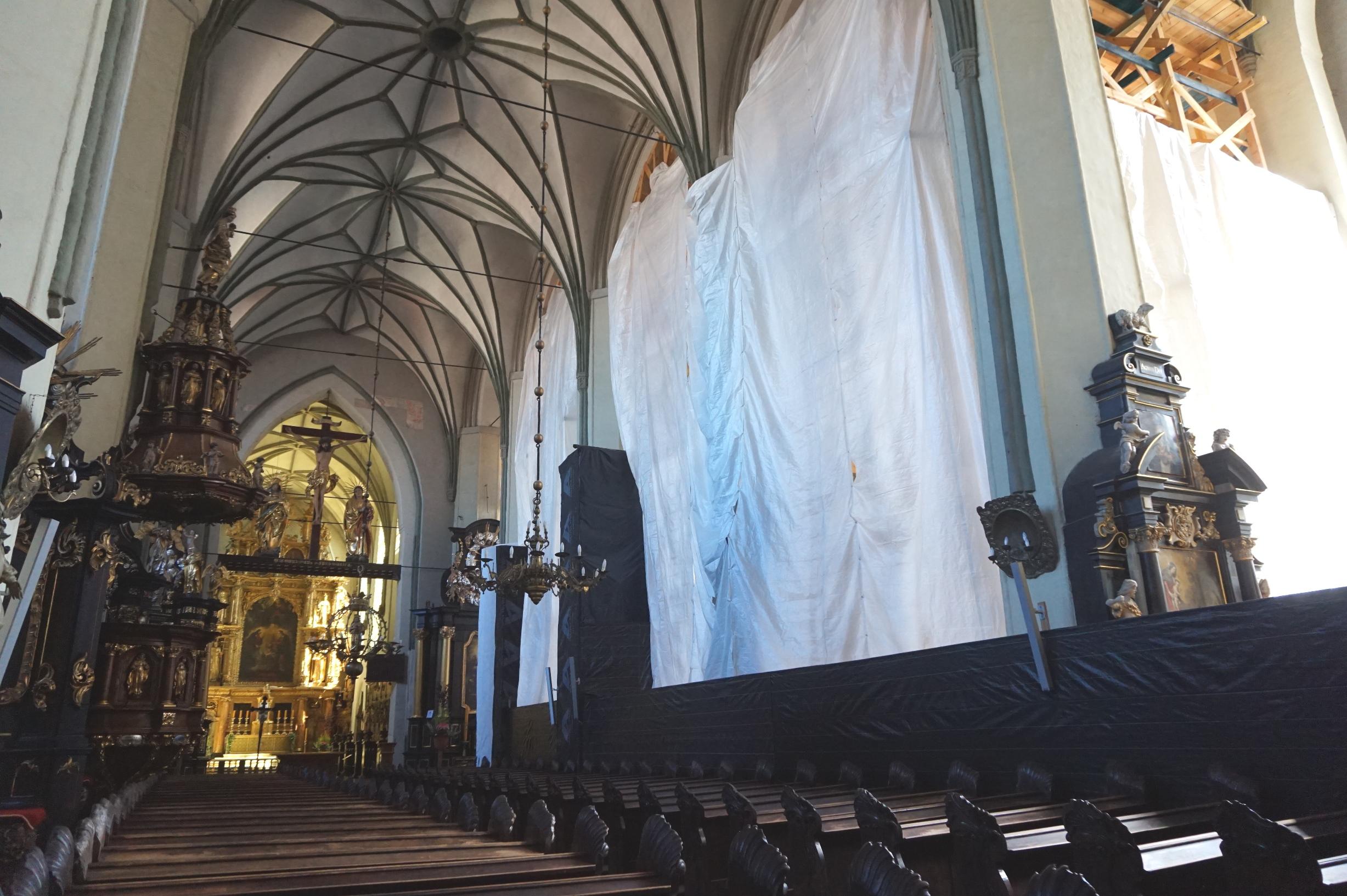 Gdańscy dominikanie zapraszają na ponowne otwarcie bazyliki św. Mikołaja
