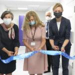 Przecięcie wstęgi w Poradni Rehabilitacyjnej w szpitalu Dziecięcym na Polankach