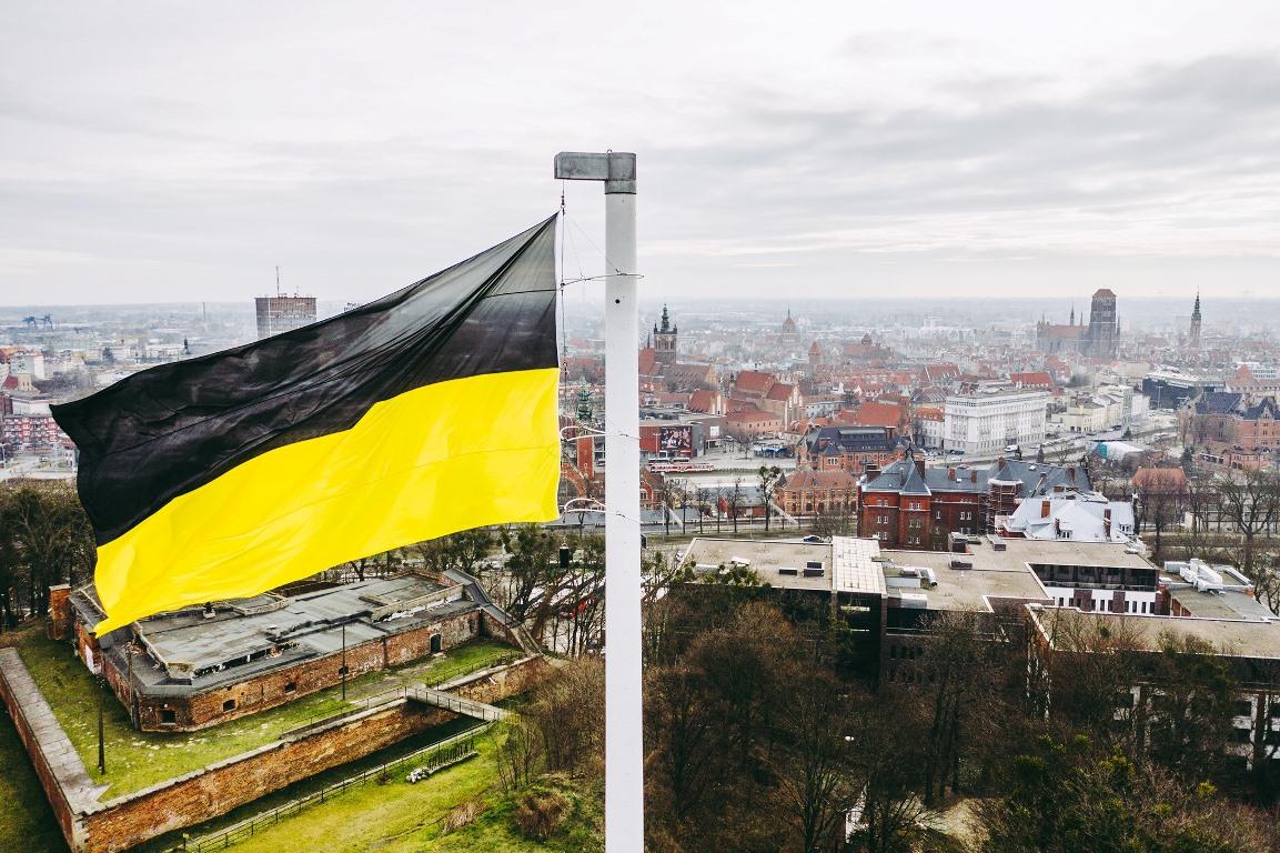 Dlaczego nad Gdańskiem powiewa kaszubska flaga?