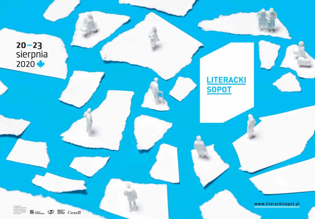 Literacki Sopot 2020 plakat