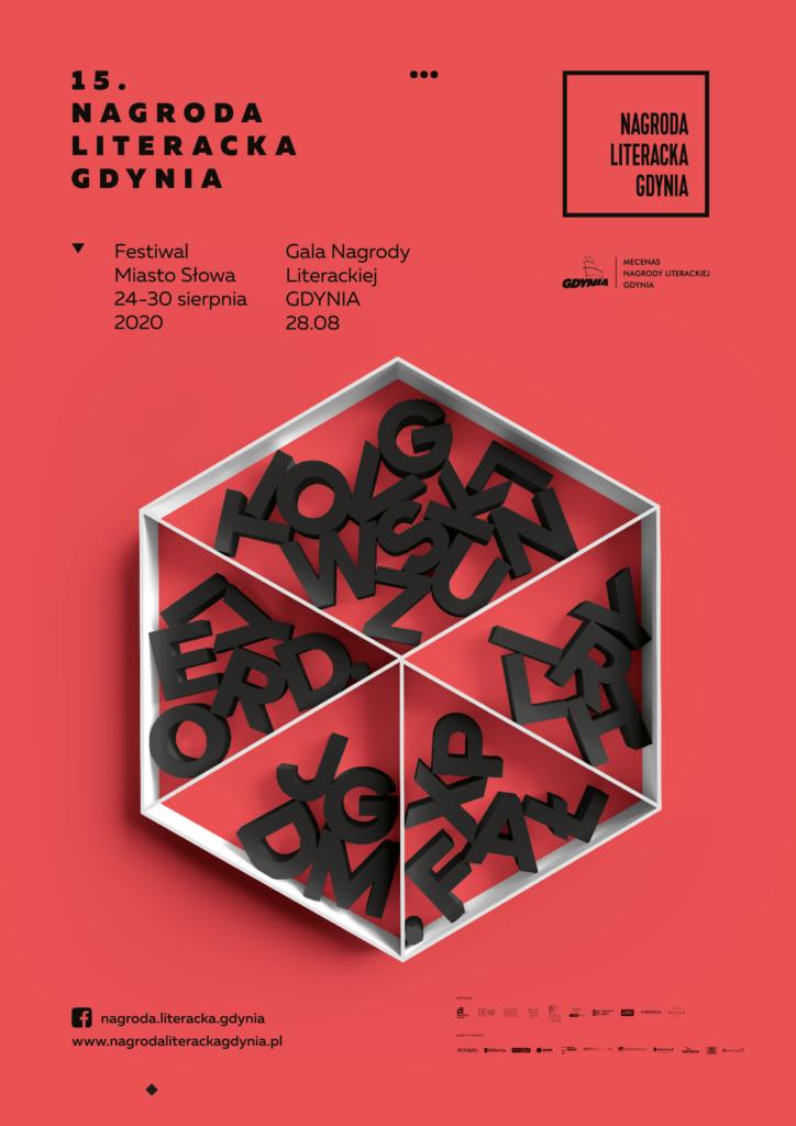 Plakat Nagroda Literacka Gdynia