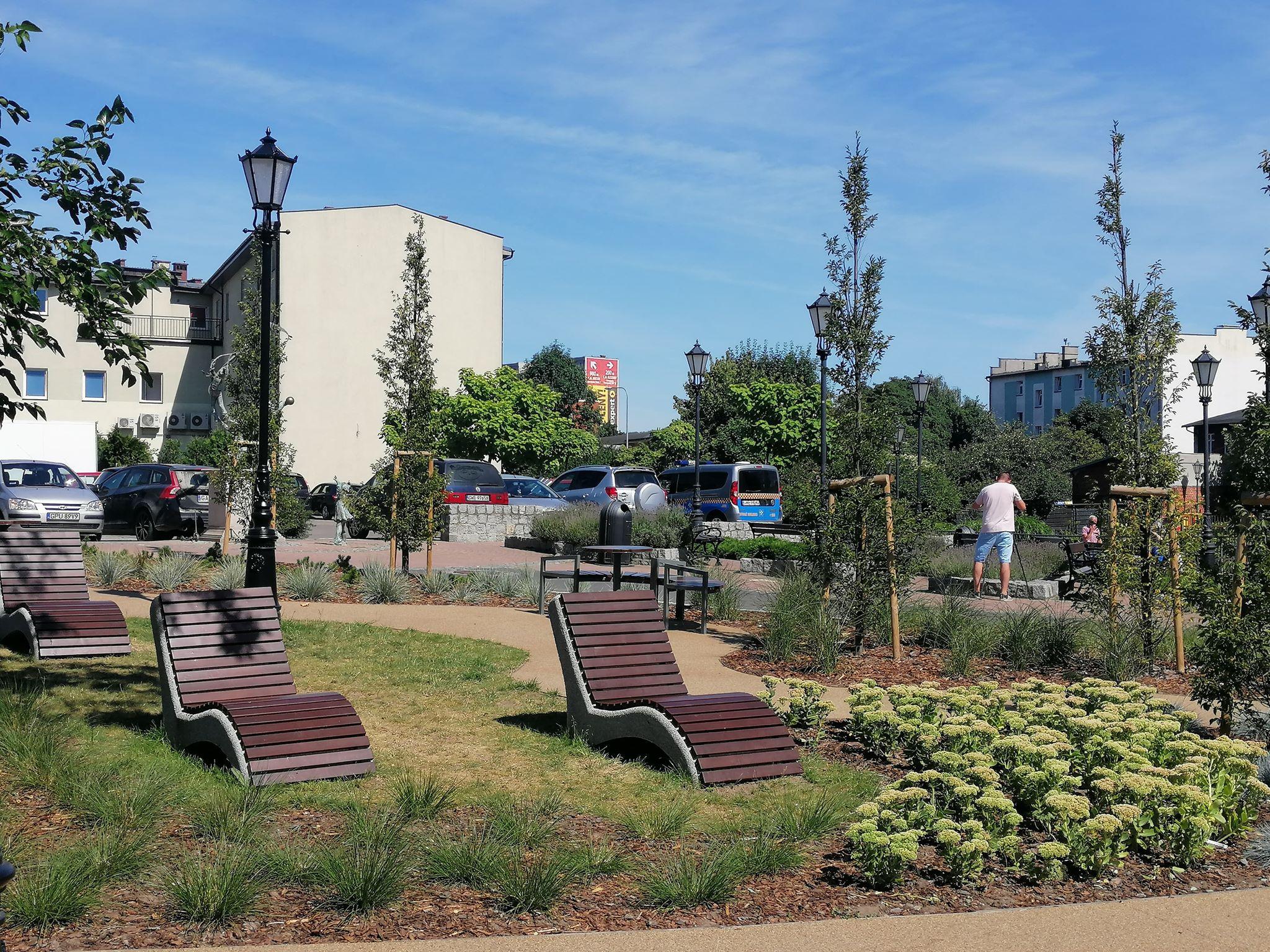 Park nad Cedronem – nowa zielona enklawa w centrum Wejherowa
