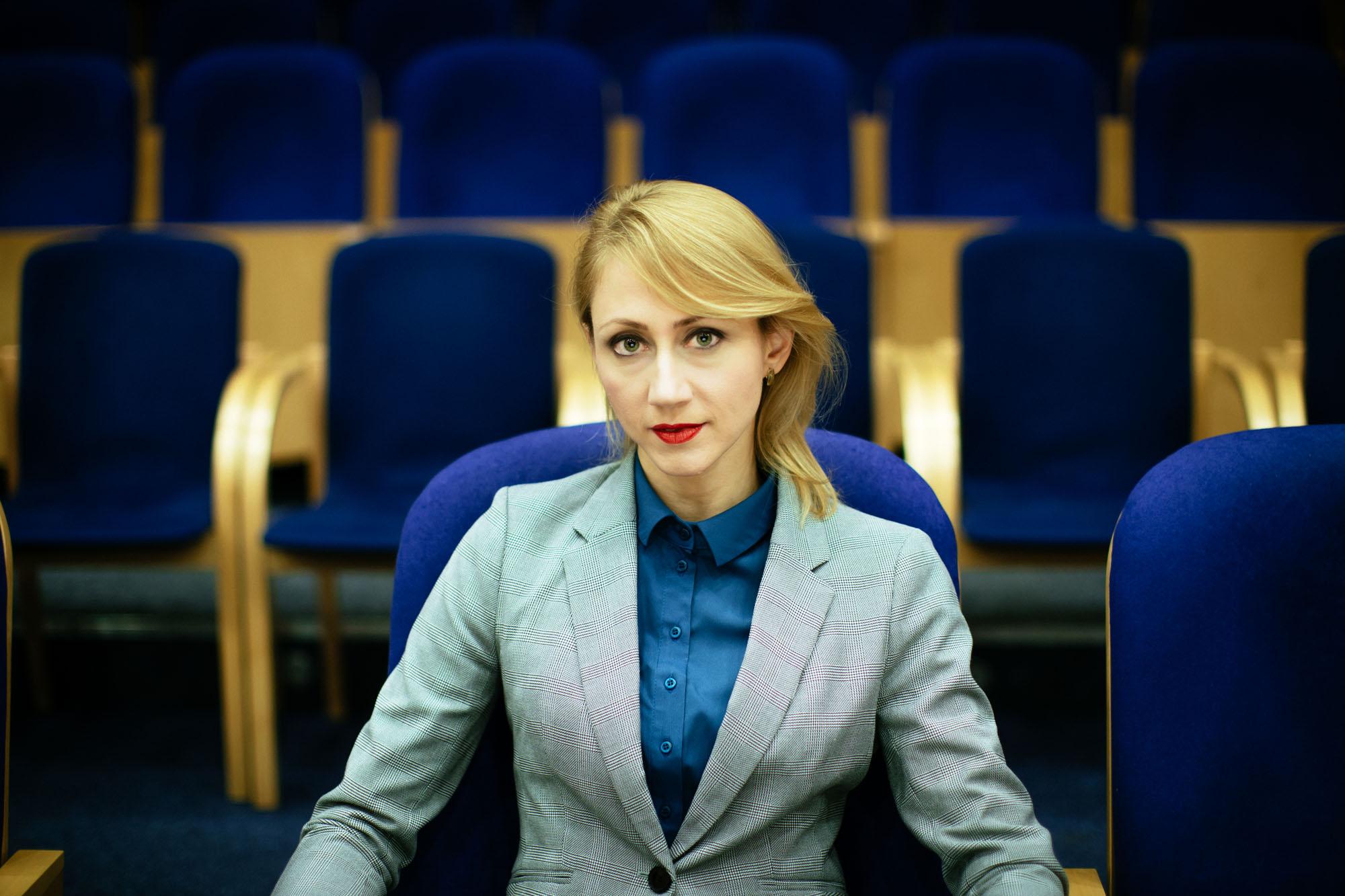 Członkini Zarządu Województwa Pomorskiego Agnieszka Kapała-Sokalska
