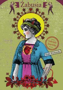 Plakat spektaklu Żabusia w Teatrze Wybrzeże