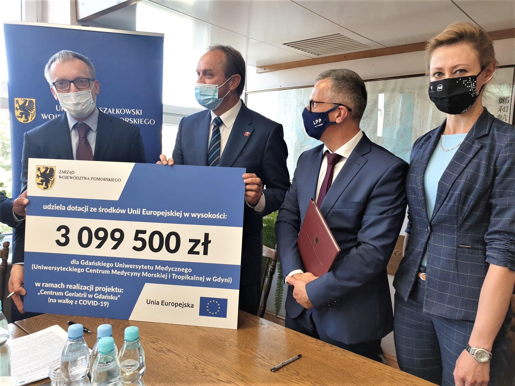 W UCMMiT w Gdyni będą nowe izolatki i sprzęt do walki z koronawirusem