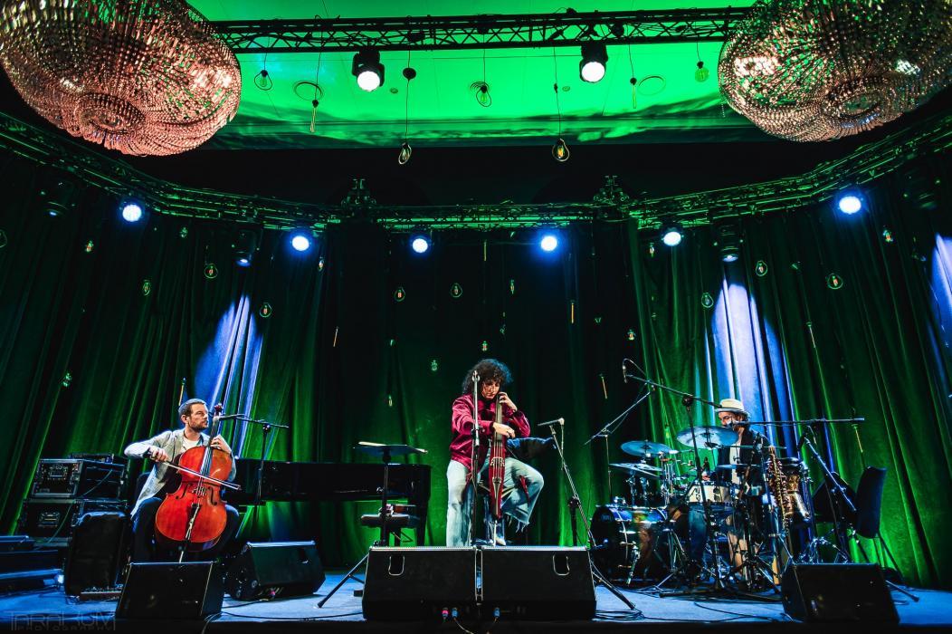 Występ artystów na Sopot Jazz Festival