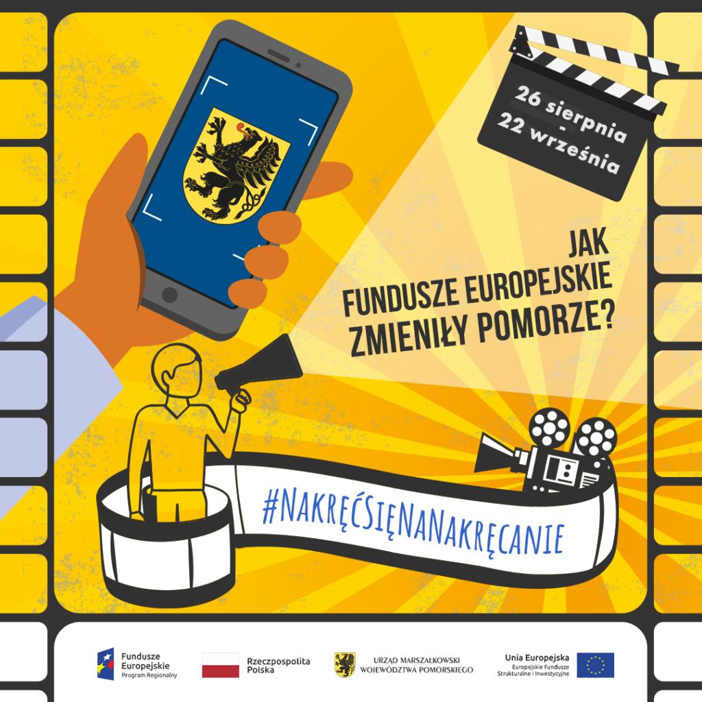 Plakat konkursu filmowego
