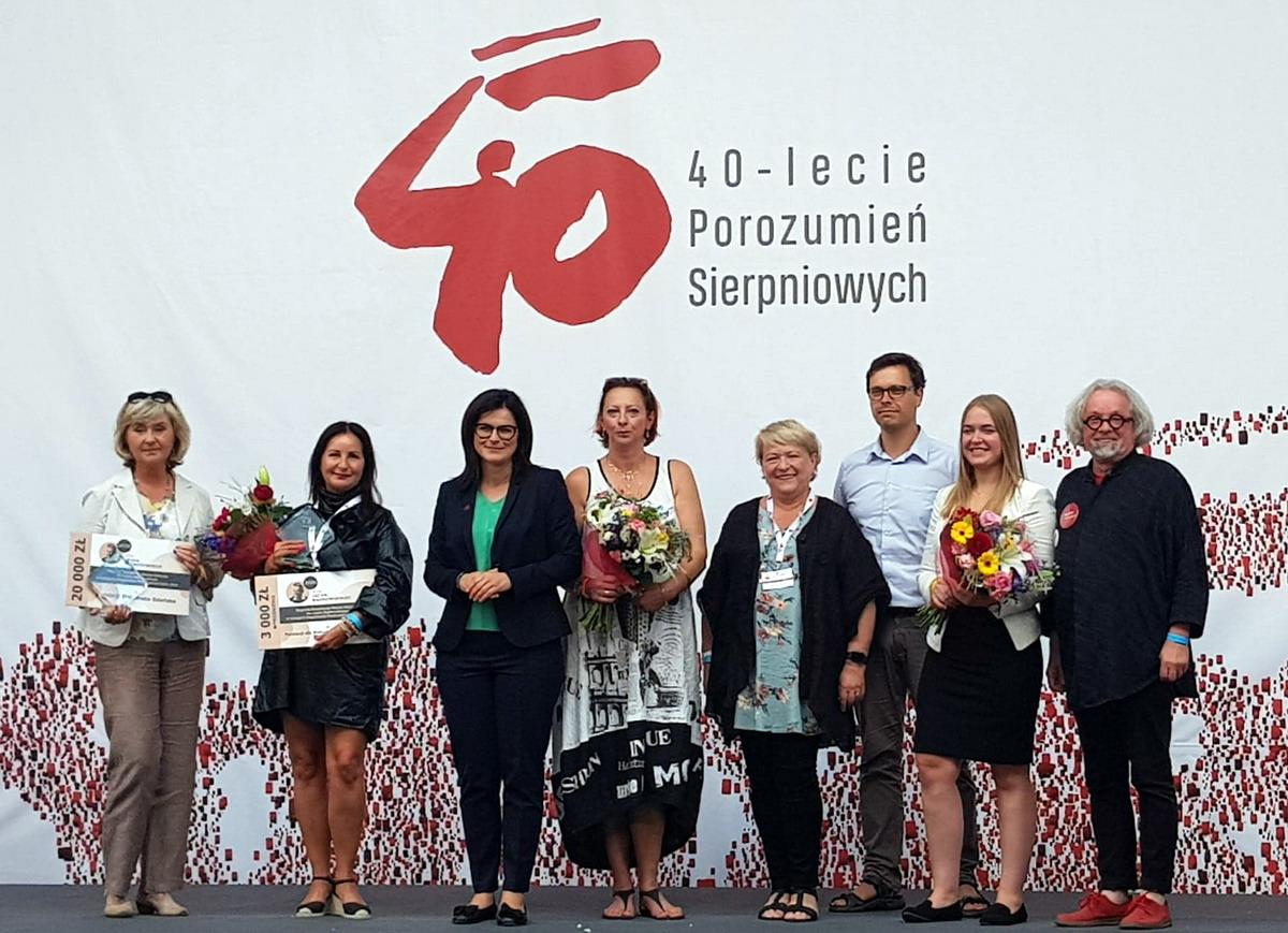 Wyróżnienia dla społeczników. Nagrody Bądkowskiego wręczone podczas Święta Wolności