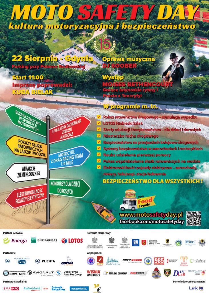 Plakat Moto Safety Day 2020