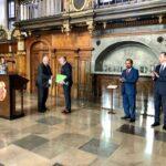Uroczystość w Dworze Artusa związana z otwarciem Konsulatu Honorowego Sri Lanki w Gdańsku