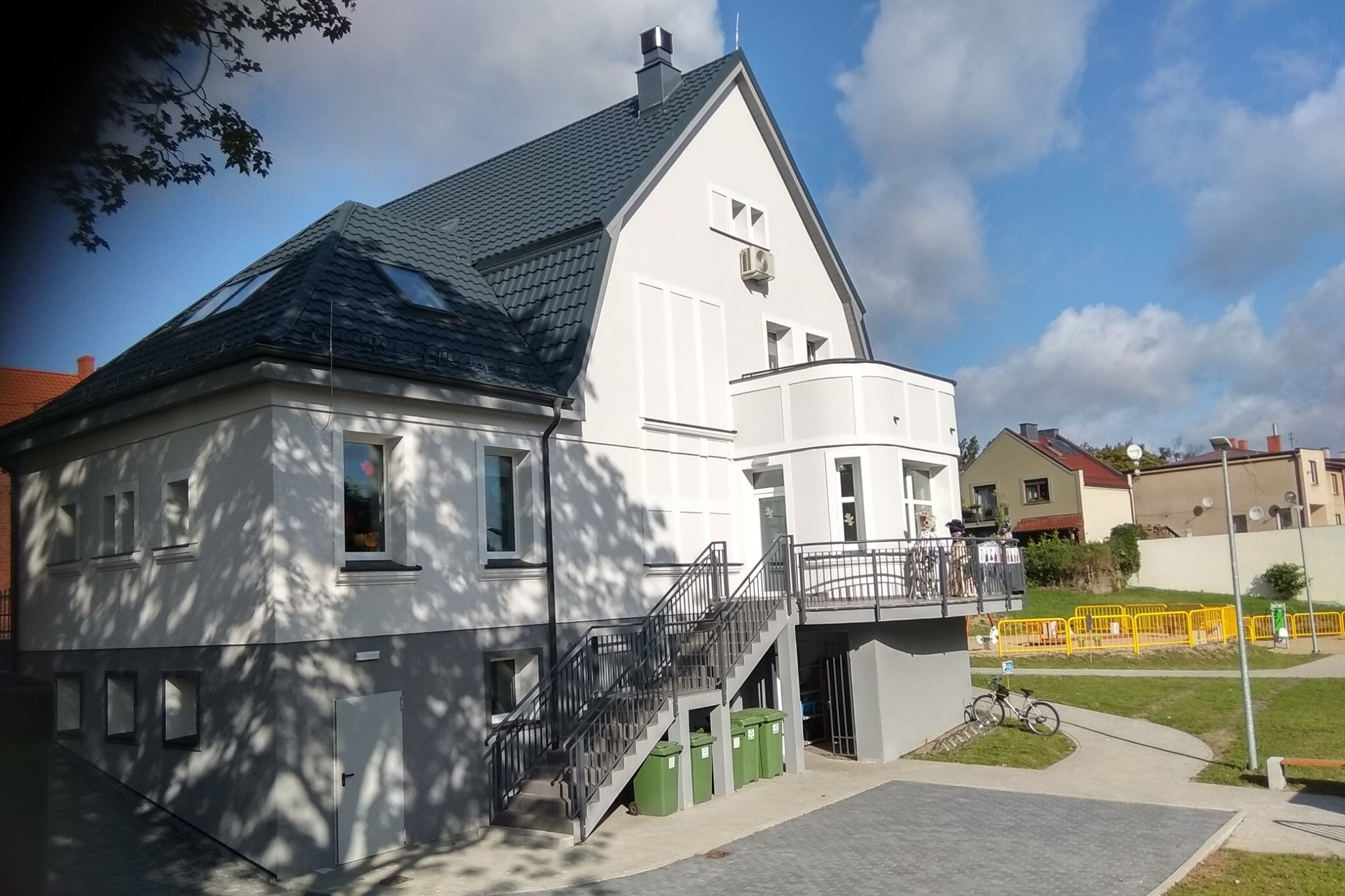 Nowy budynek Centrum Wspierania Rodziny w Skarszewach