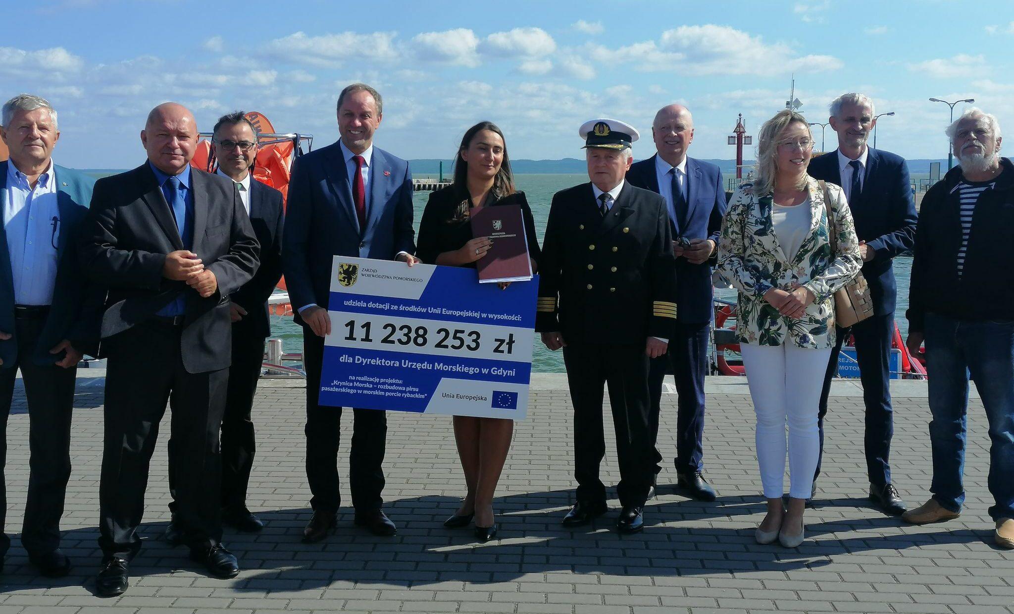 Krynica Morska. Dzięki unijnemu dofinansowaniu rozbudowany zostanie port
