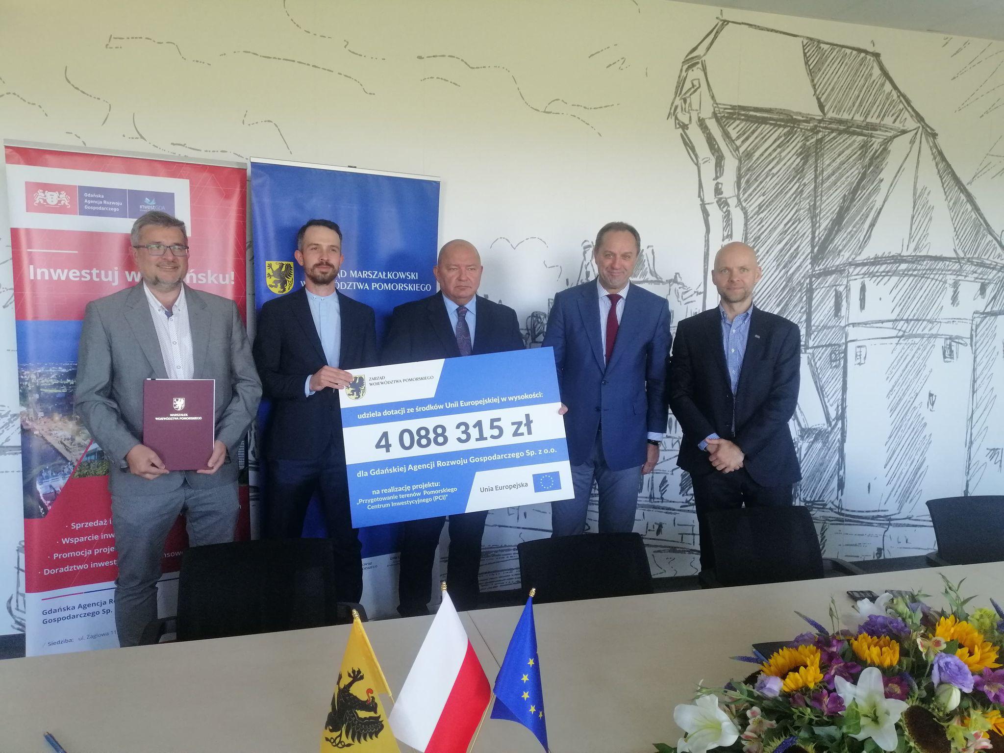 Pomorskie Centrum Inwestycyjne w Gdańsku z unijną dotacją