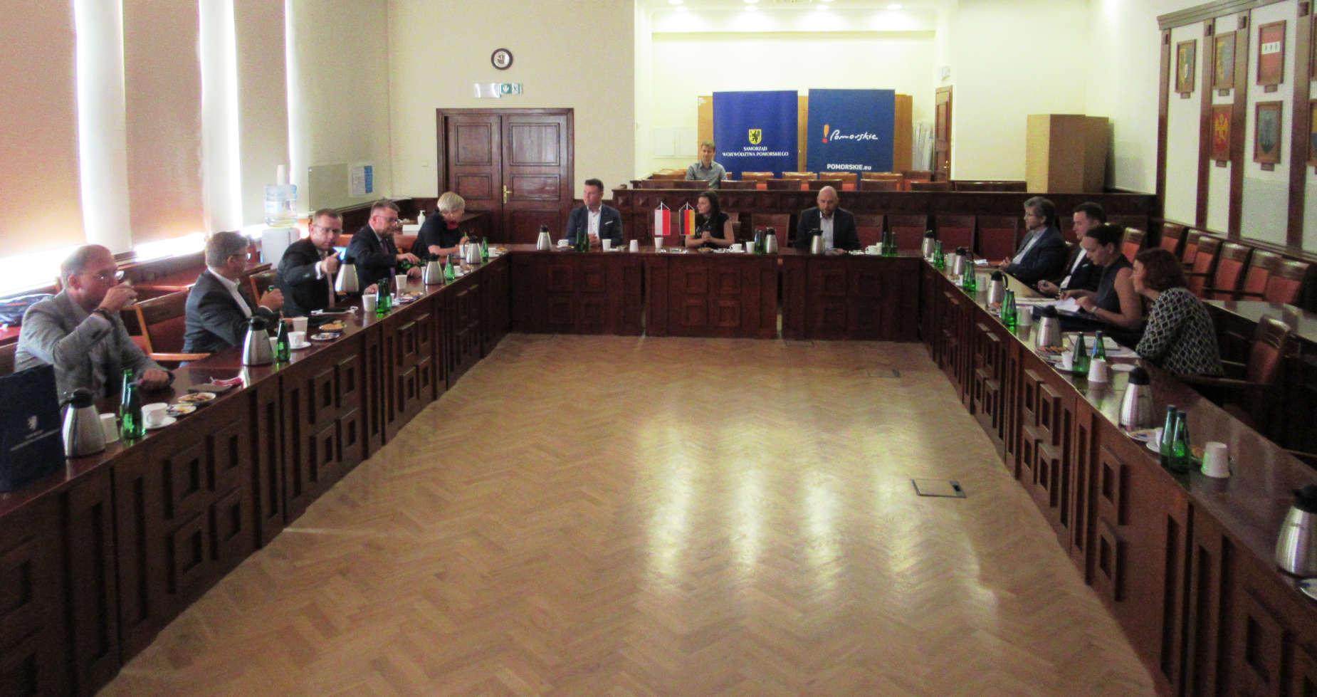 Parlamentarzyści z Saksonii-Anhalt odwiedzili Pomorze