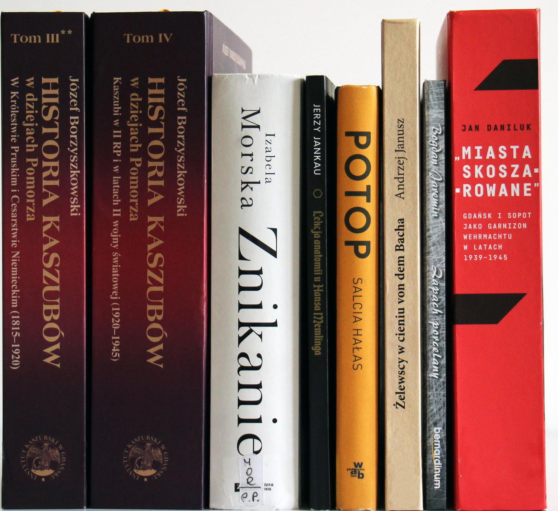 Książki nominowane do PNL za 2019 r. For. mat. prasowe WiMBP