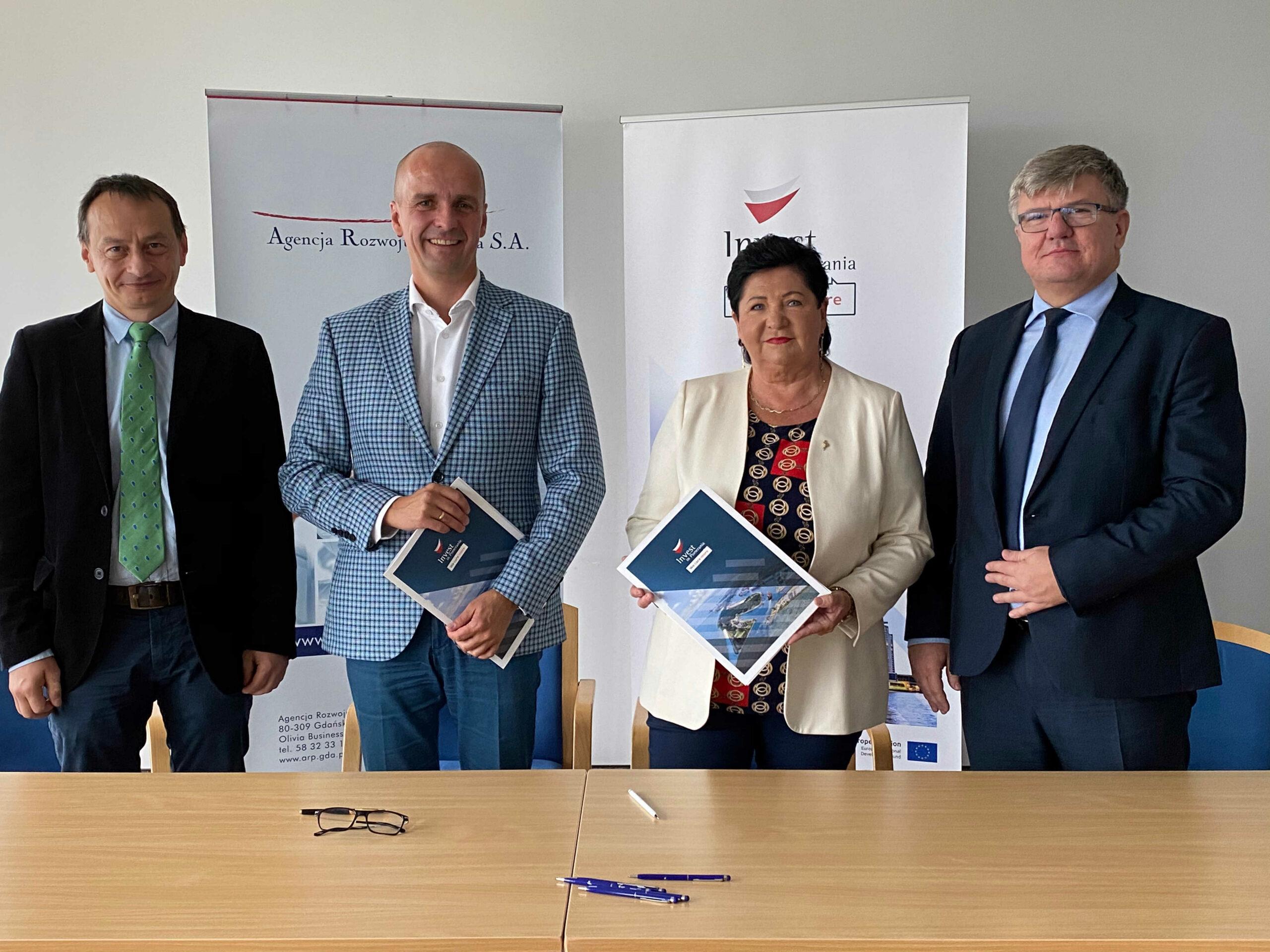 Pierwsza umowa na dofinansowanie rozwoju terenów inwestycyjnych podpisana