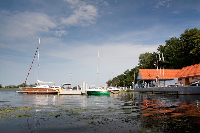 Przystań żeglarska Park Północny w Malborku