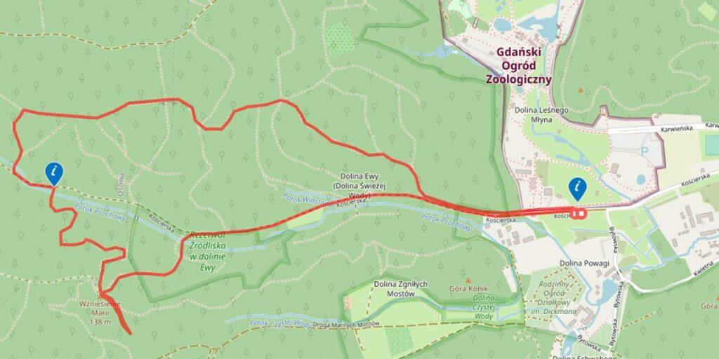 ekomarsz Mapa trasy