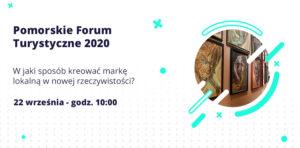Baner Pomorskiego Forum Turystycznego 2020