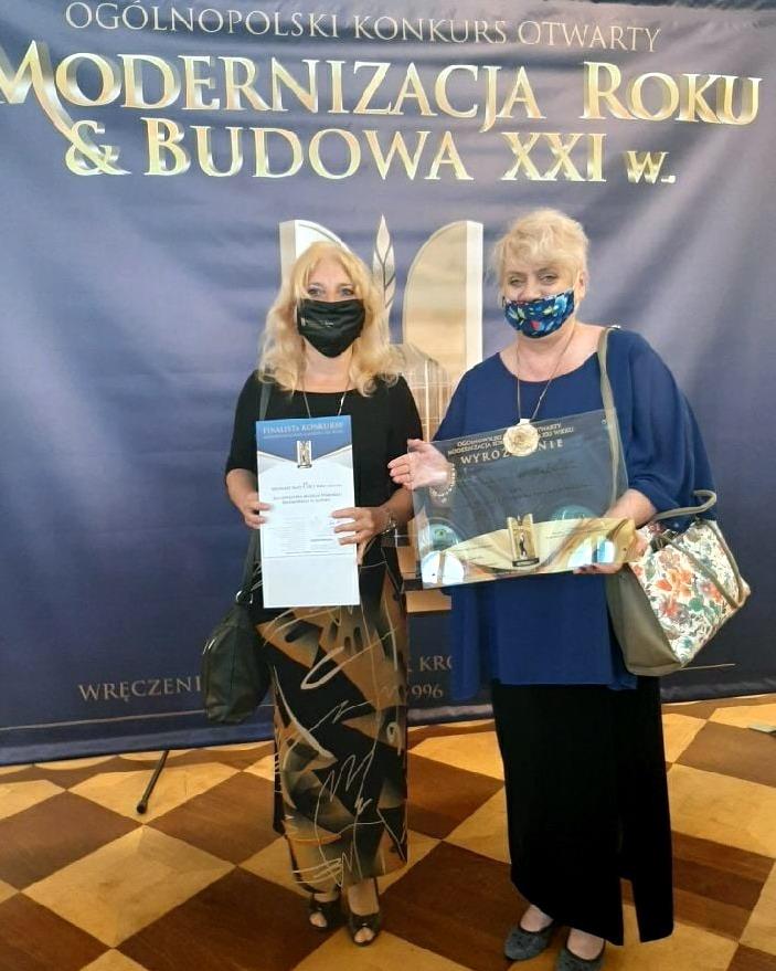 Dyr. Muzeum Pomorza Środkowego z wyróżnieniem dla Białego Spichlerza w Słupsku
