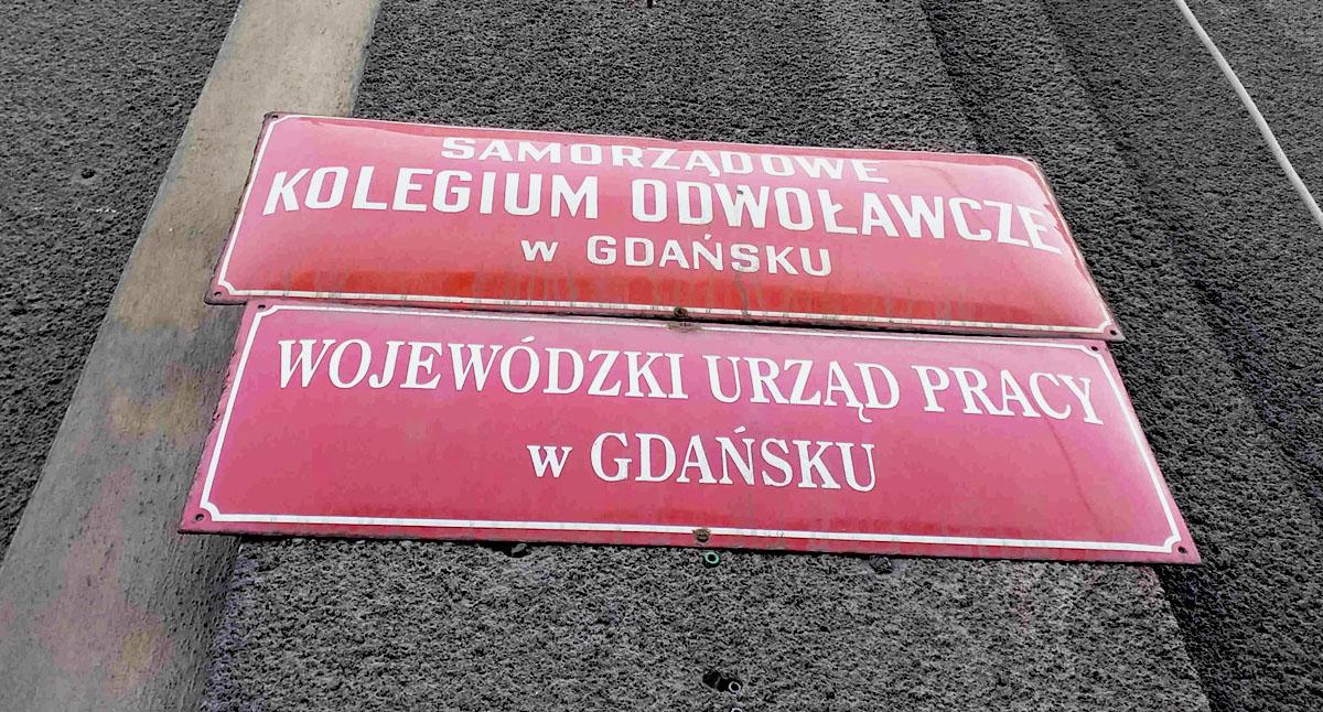 tablica na urzędzie pracy w gdańsku