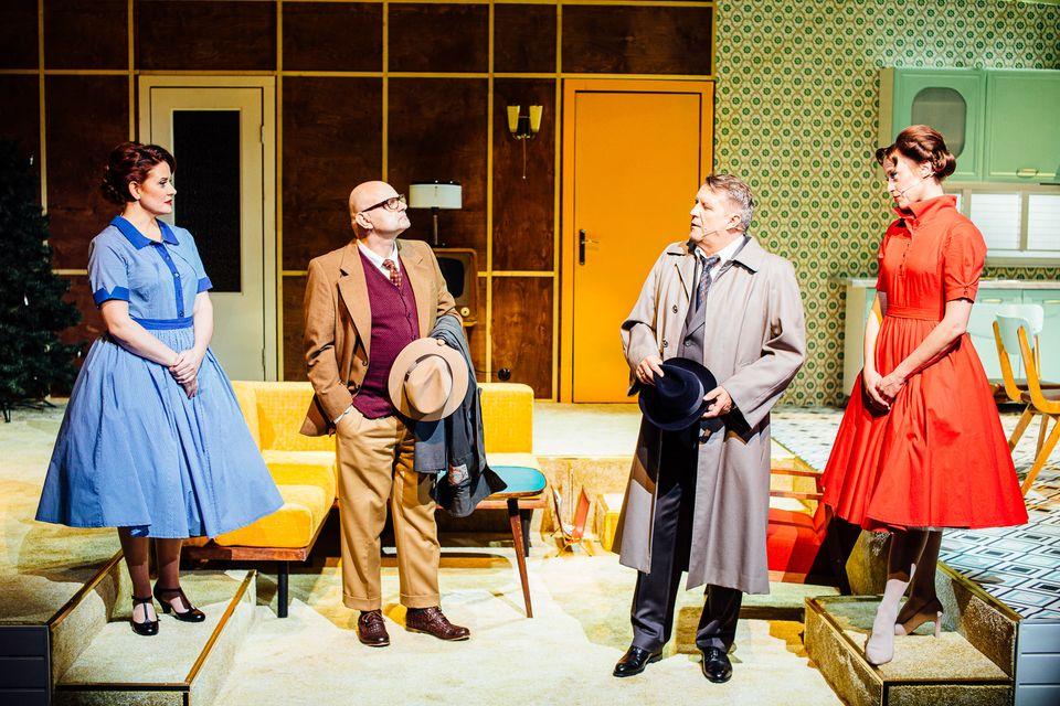 """Tu happy endem jest odejście żony od męża. Premiera """"Nory"""" w Teatrze Wybrzeże"""