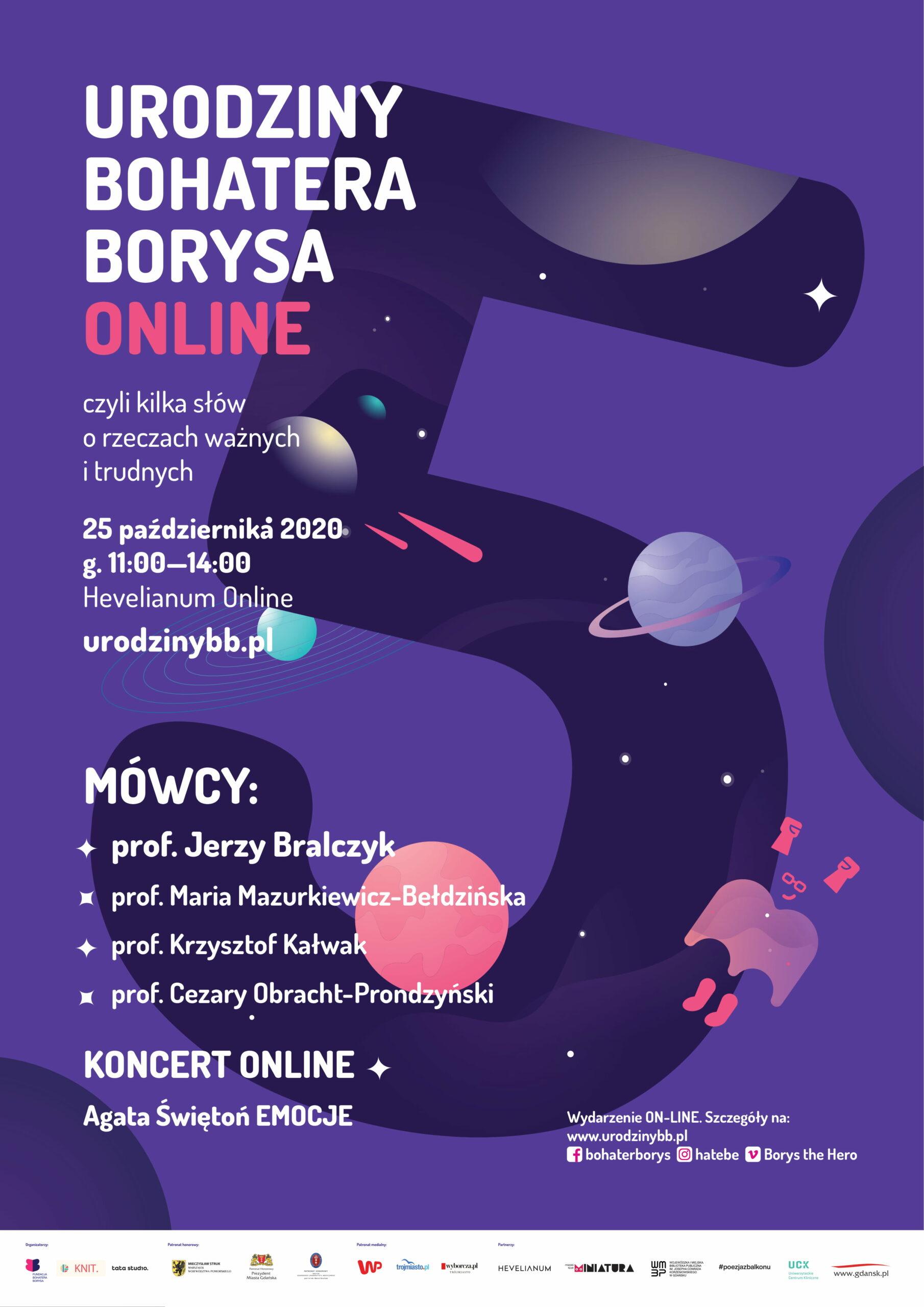 Urodziny Bohatera Borysa_plakat