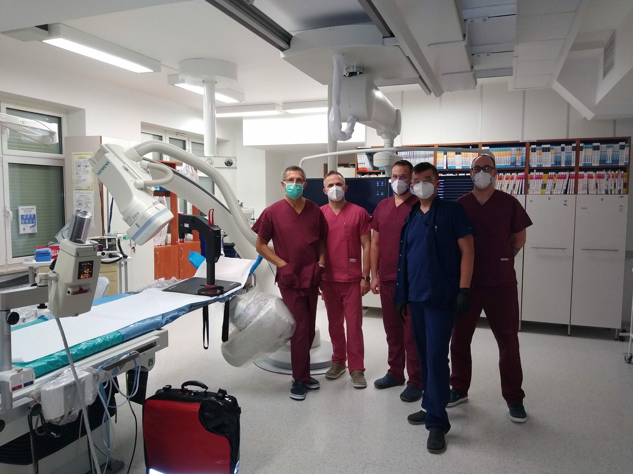 Słupski szpital kupił robot, który ma pomóc pacjentom kardiologicznym