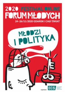 Plakat Forum Młodych 2020