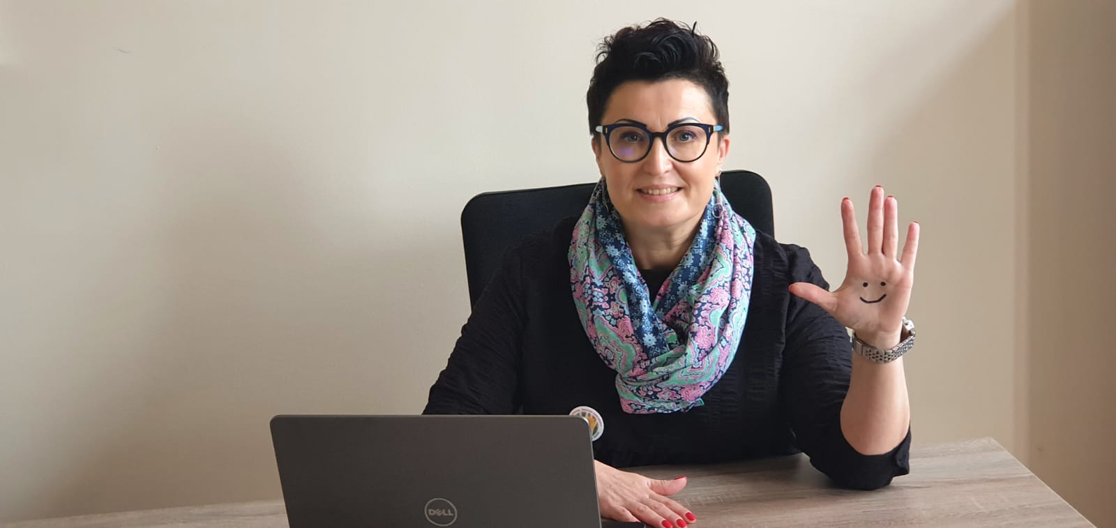 Joanna Bartoszewska, dyrektorka Pomorskiego Ośrodka Adopcyjnego w Gdańsku