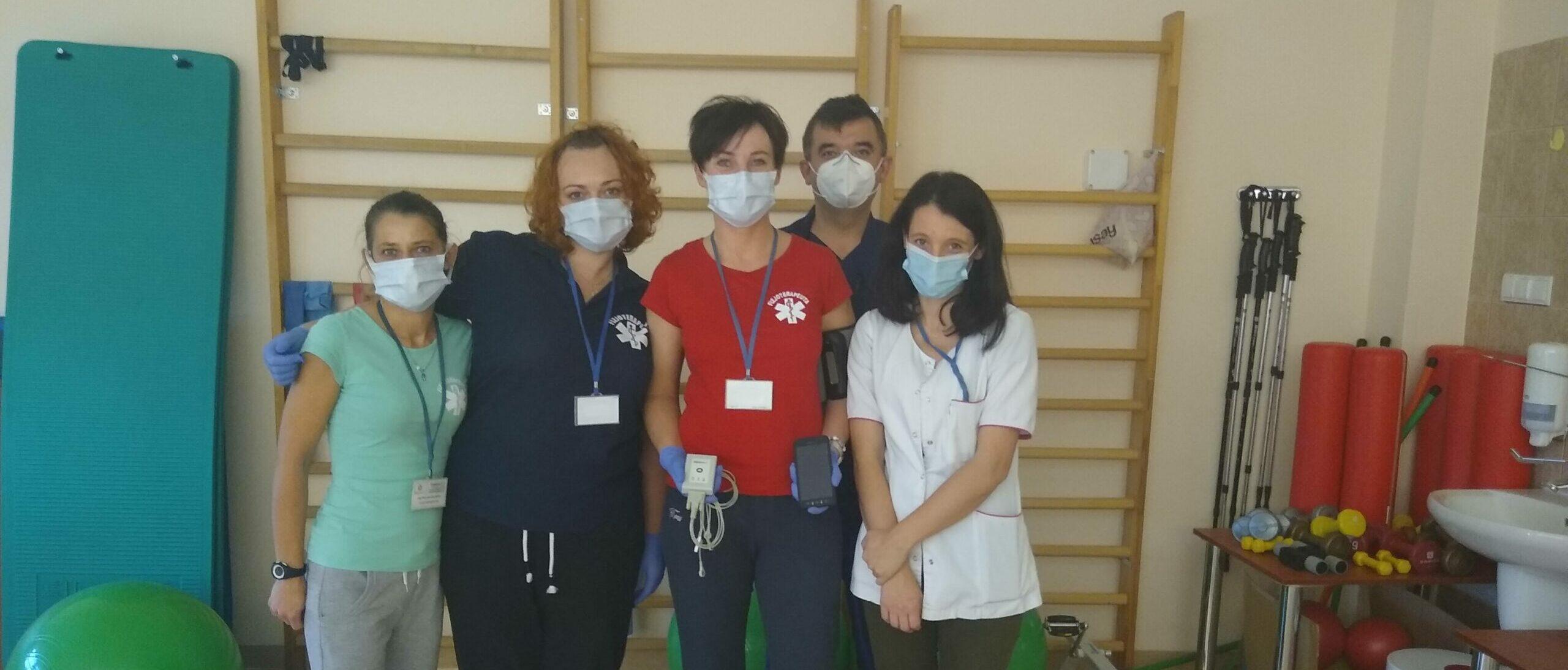 Zespół rehabilitantów słupskiego szpitala