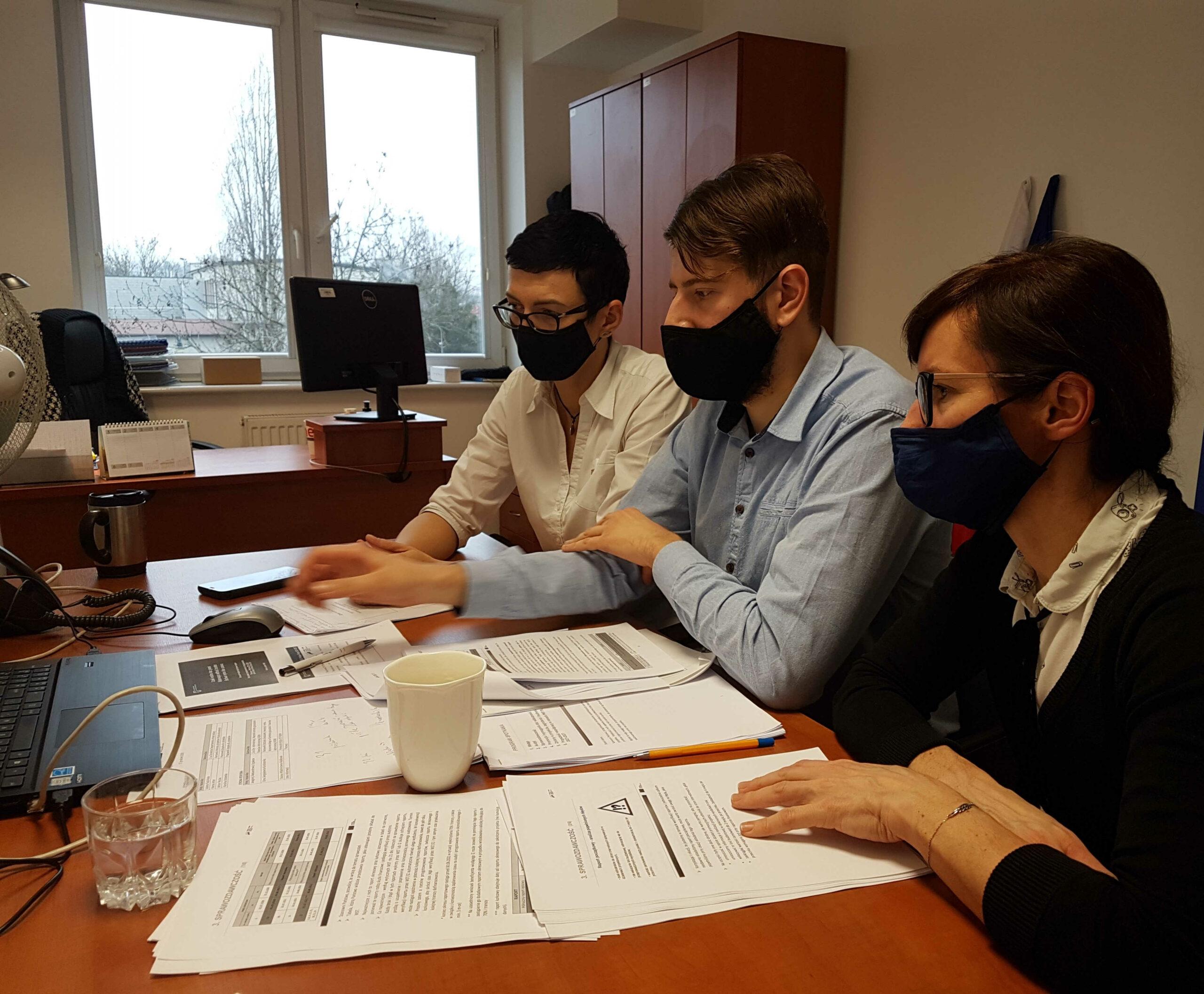 Spotkanie robocze beneficjentów projektu