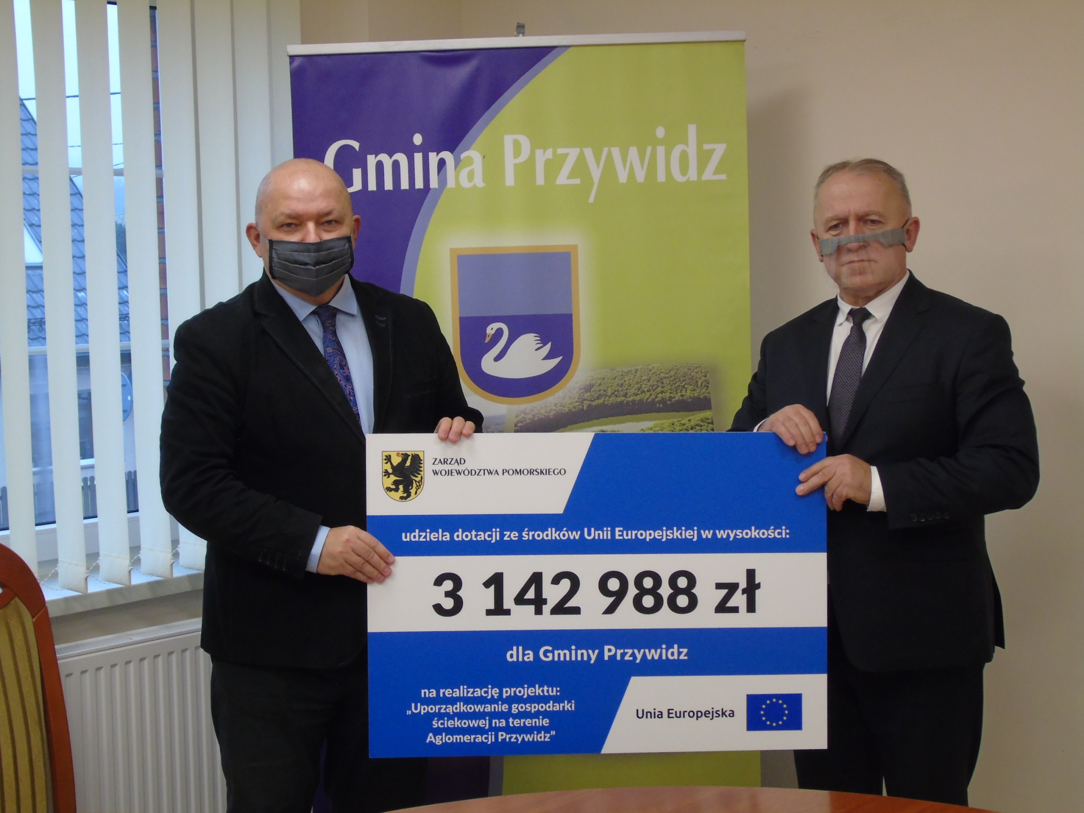Dodatkowe środki unijne dla gminy Przywidz. Powstaną nowe sieci kanalizacji i oczyszczalnia ścieków