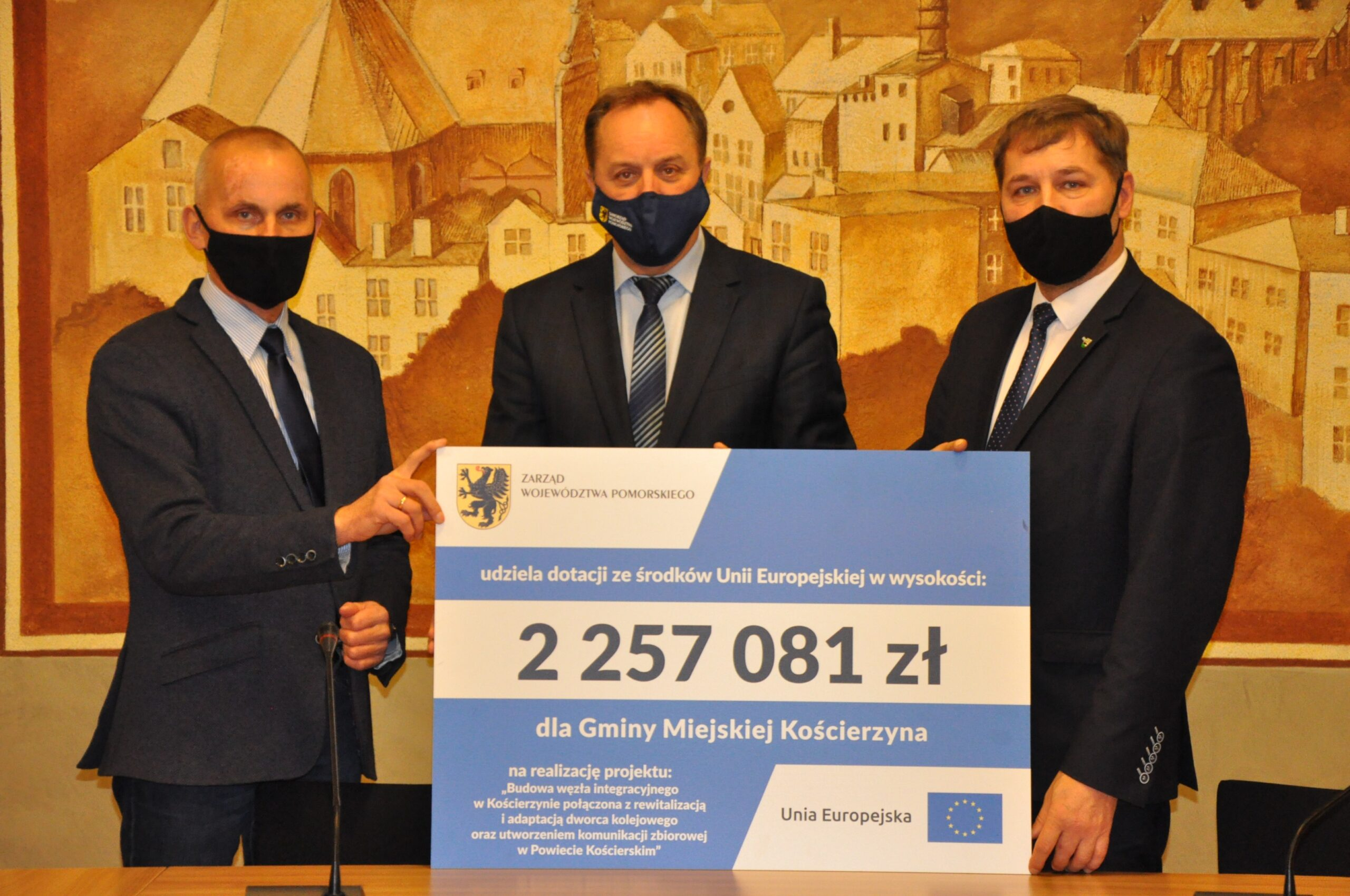 Ponad 3,4 mln zł ze środków unijnych. Dodatkowe pieniądze na budowę węzłów przesiadkowych