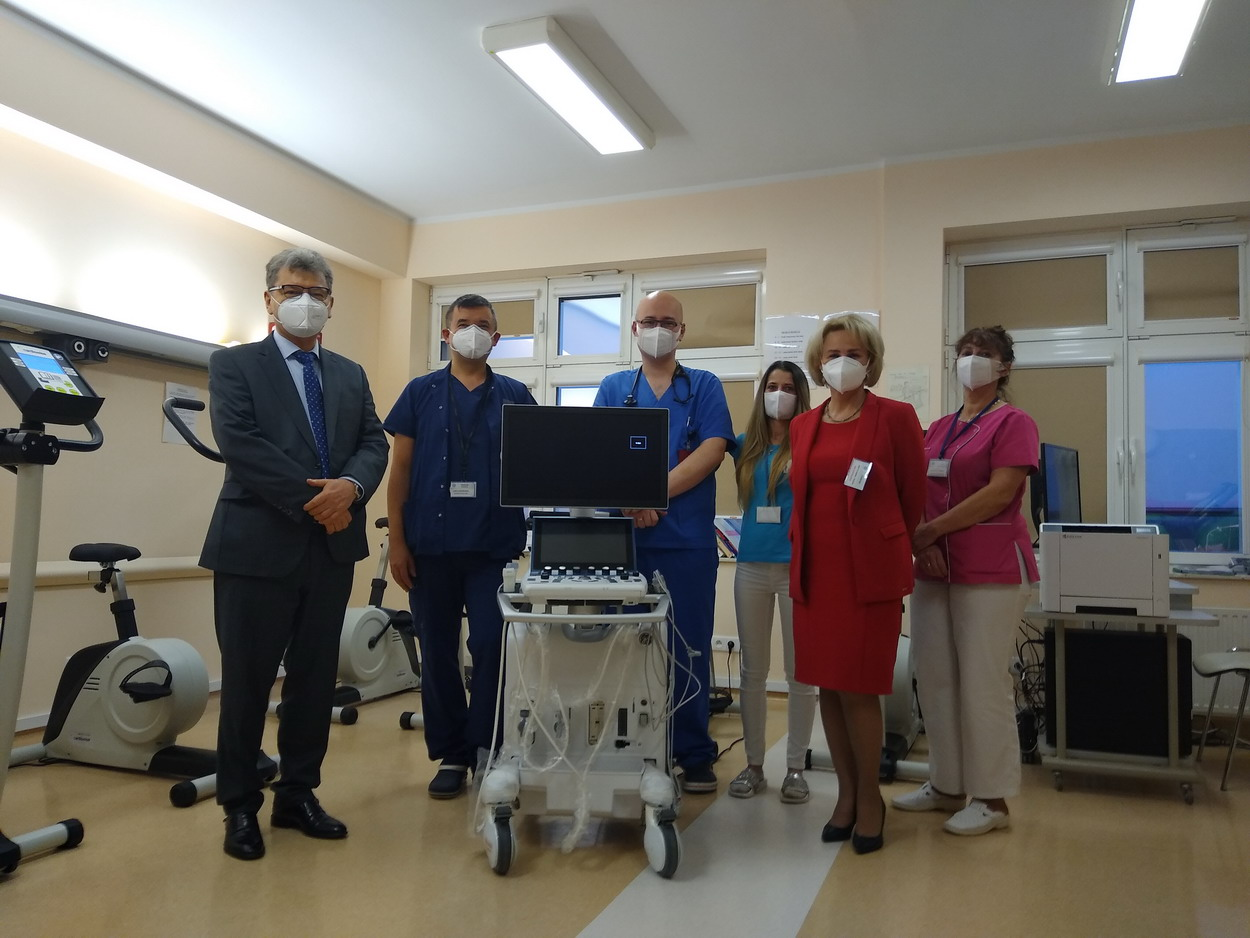 Słupski szpital ma nowy sprzęt kardiologiczny. Chodzi o echokardiograf i cykloergometr