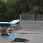 Deskorolka w skateparku