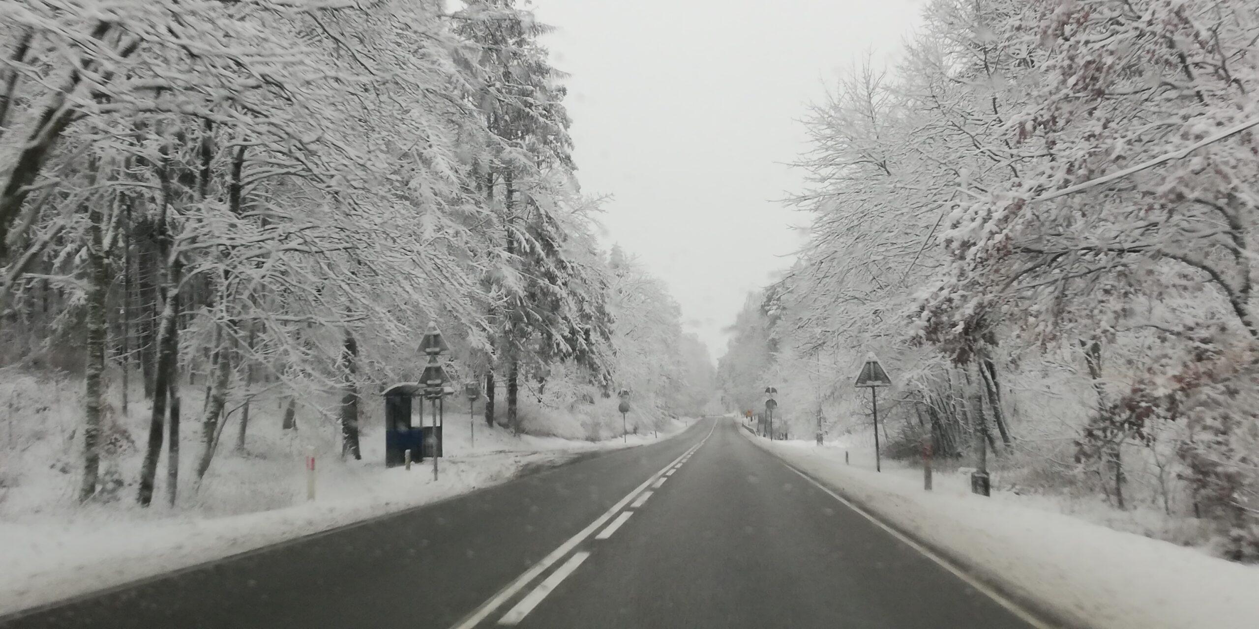 Ponad 130 pojazdów, 30 tys. ton soli i piasku 24h na dobę. Jak wygląda zimowe utrzymanie dróg na Pomorzu?