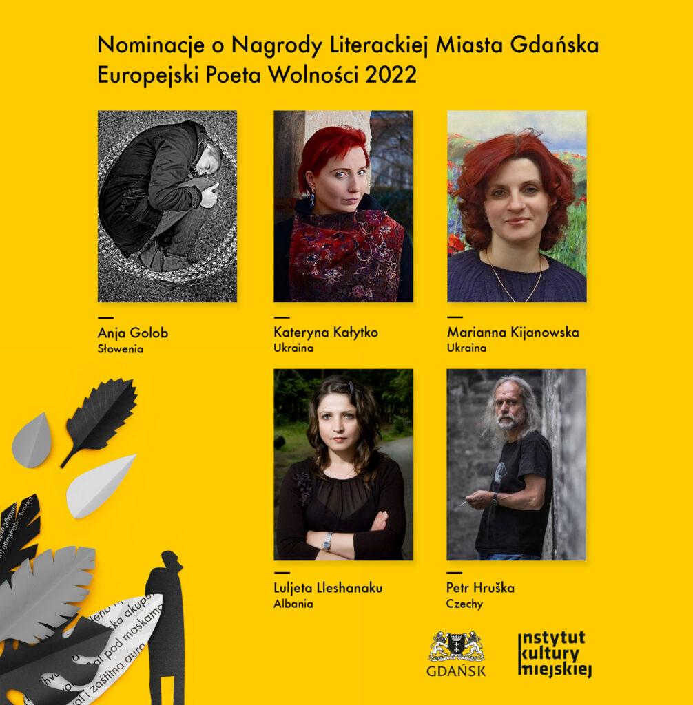 plakat nominowani do nagrody