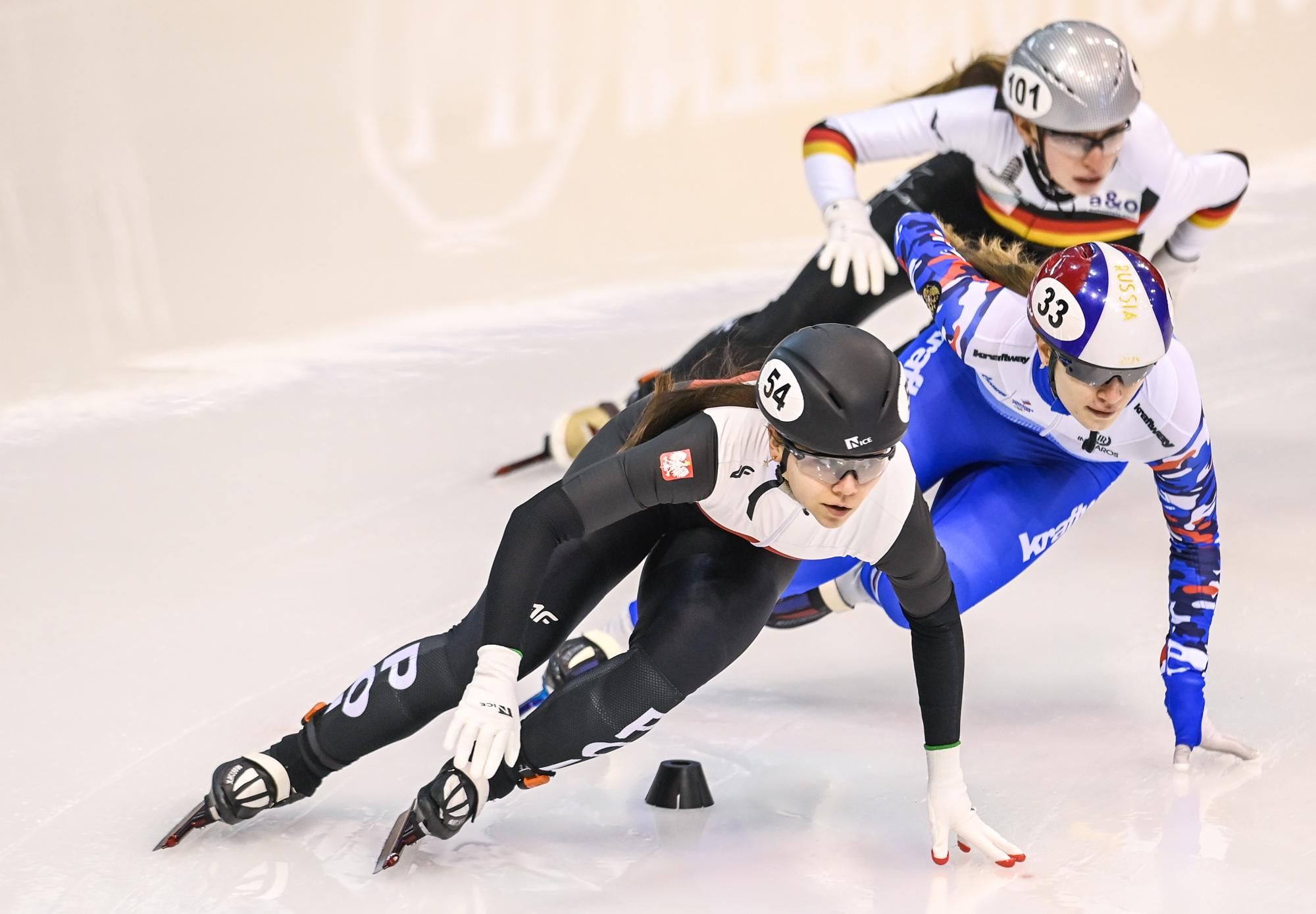 Short-track na najwyższym poziomie. W Gdańsku zakończyły się mistrzostwa Europy