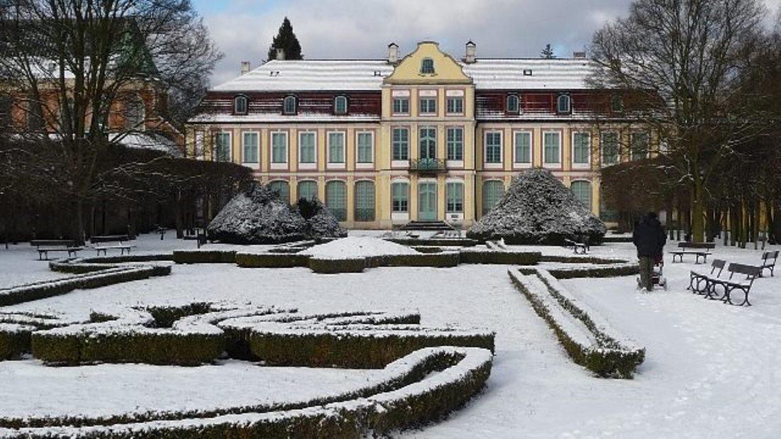 Pałac Opatów w Oliwie - siedziba Oddziału Sztuki Współczesnej Muzeum Narodowego w Gdańsku