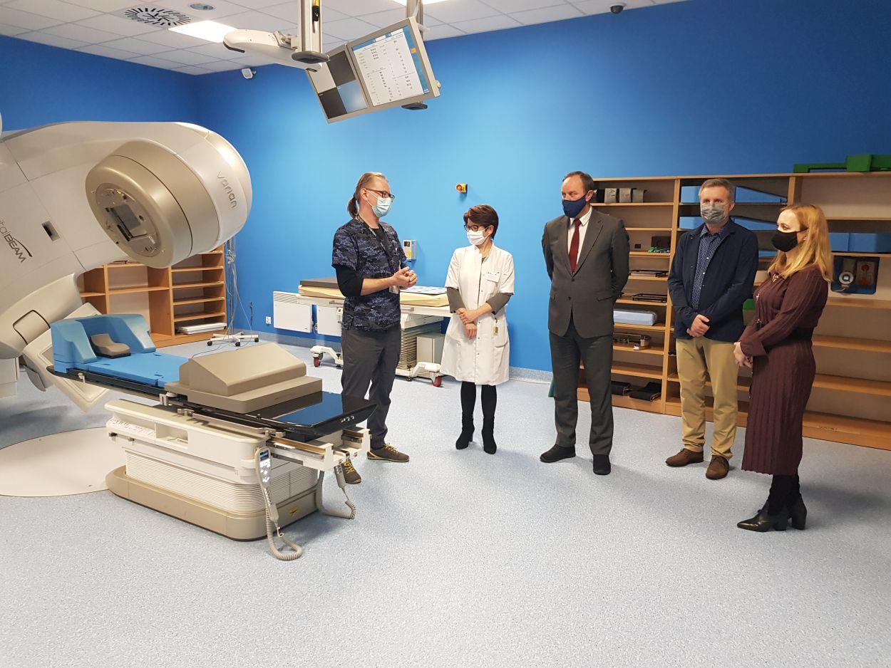Nowy akcelerator dla chorych na raka w Szpitalu im PCK w Gdyni. Kosztował ponad 10 mln zł