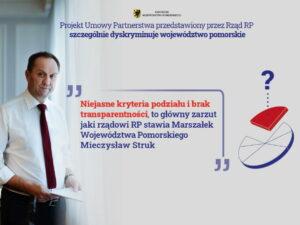 Projekt umowy partnerstwa. Fot. mat. prasowe