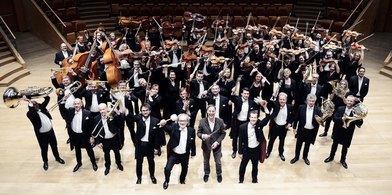 orkiestra symfoniczna Polskiej Filharmonii Bałtyckiej w Gdańsku. Fot. materiał prasowy