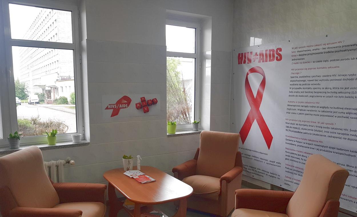 Słupsk. Od 31 marca w szpitalu rusza punkt konsultacyjno-diagnostyczny HIV