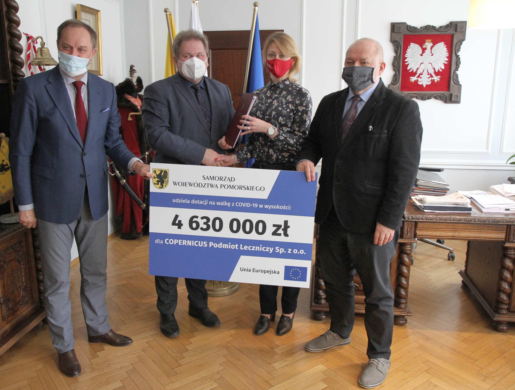 Copernicus dostanie dodatkowe 4,6 mln zł. To środki z Unii Europejskiej na walkę z COVID-19
