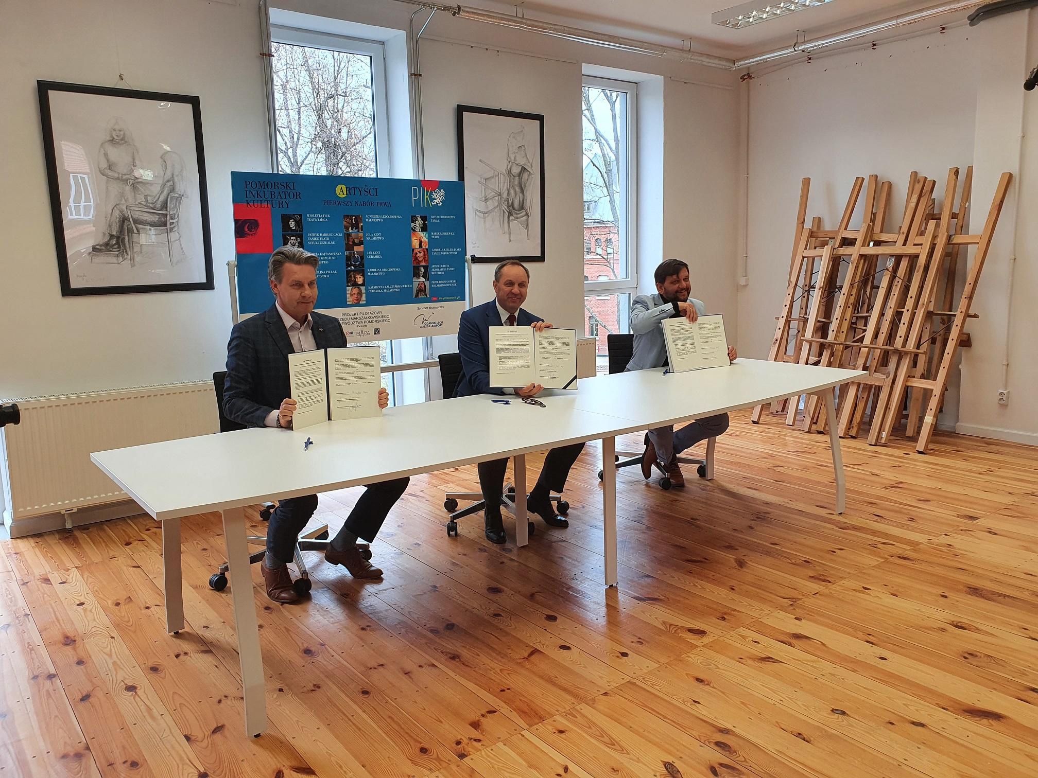 Oficjalne otwarcie Pomorskiego Inkubatora Kultury. Zaprasza wszystkich artystów z regionu